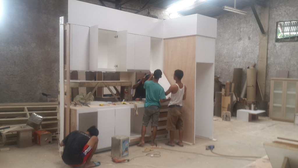 kitchen set kemang lavish residence