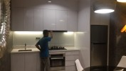 kitchen aprtmn kemang lavish di show unit