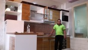 Display kitchen set di work shop